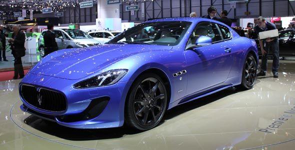 Maserati presenta en Ginebra el nuevo GranTurismo Sport
