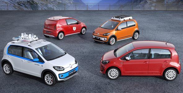 Volkswagen Up!: cuatro concepts en Ginebra