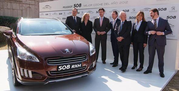 Peugeot 508, el mejor Coche del Año 2012 de ABC