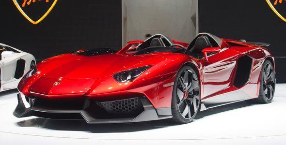 Lamborghini Aventador J: V12 de 700 CV en Ginebra