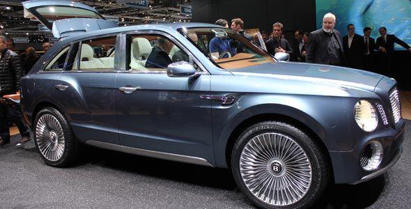 Bentley EXP 9 F: un SUV de máximo lujo