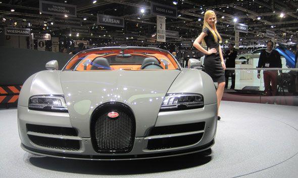 Bugatti Veyron Grand Sport Vitesse, un descapotable con 1.200 CV