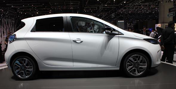 Renault Zoe: versión definitiva en Ginebra