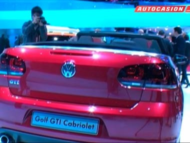 Volkswagen Golf (VI) GTI Cabriolet: el más potente