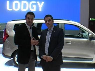 Dacia presenta un monovolumen: el Lodgy