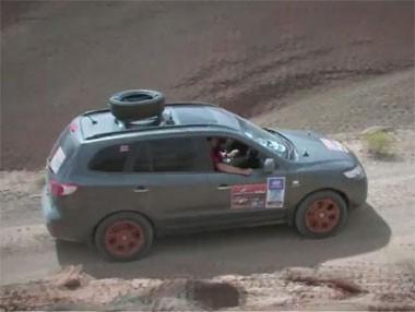 Hyundai Santa Fe en El Desierto de los Niños