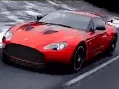 Aston Martin V12 Zagato: en movimiento