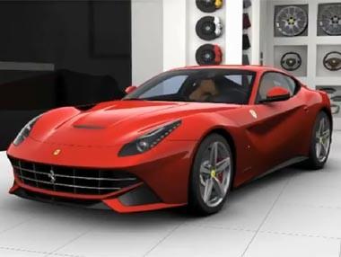 Ferrari F12 Berlinetta: diseño exterior e interior
