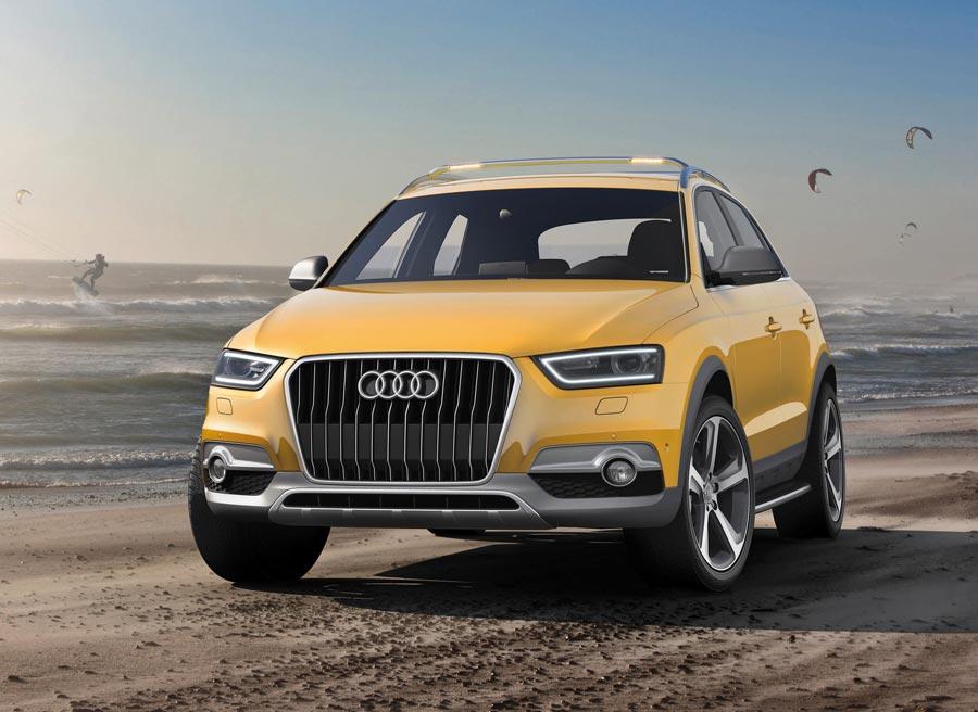El Audi Q3 Jinglong Yufeng está pensado para los amantes del Kitesurf.