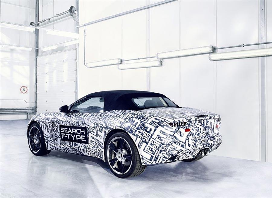 El nuevo Jaguar F-Type llegará al mercado en 2013.