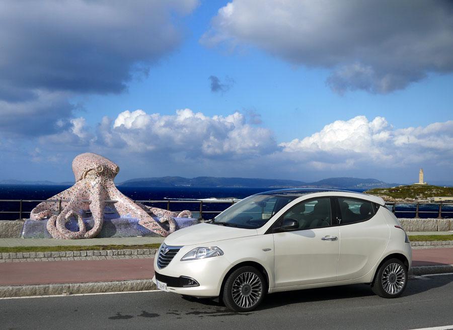 Lancia Ypsilon TwinAir, La Coruña, Rubén Fidalgo