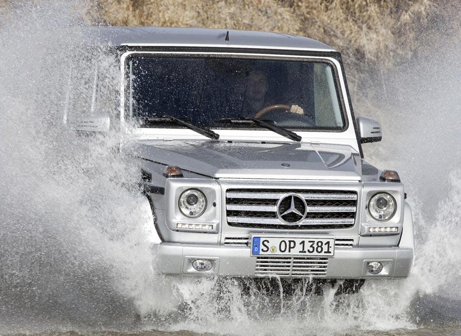 El Mercedes Clase G se defiende bien sea en el terreno que sea.