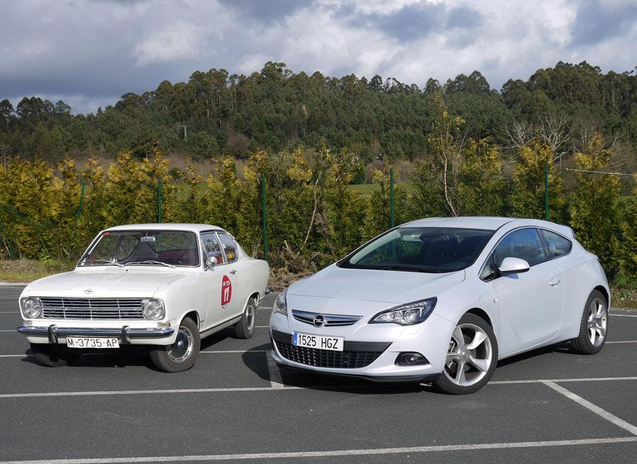 Opel Astra GTC 2.0 CDTi 165 CV Vs Kadett B LS, Perbes, Rubén Fidalgo