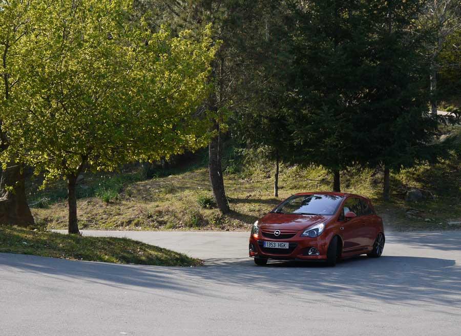 Prueba Opel Corsa OPC Nurburgring, Matamá, Rubén Fidalgo