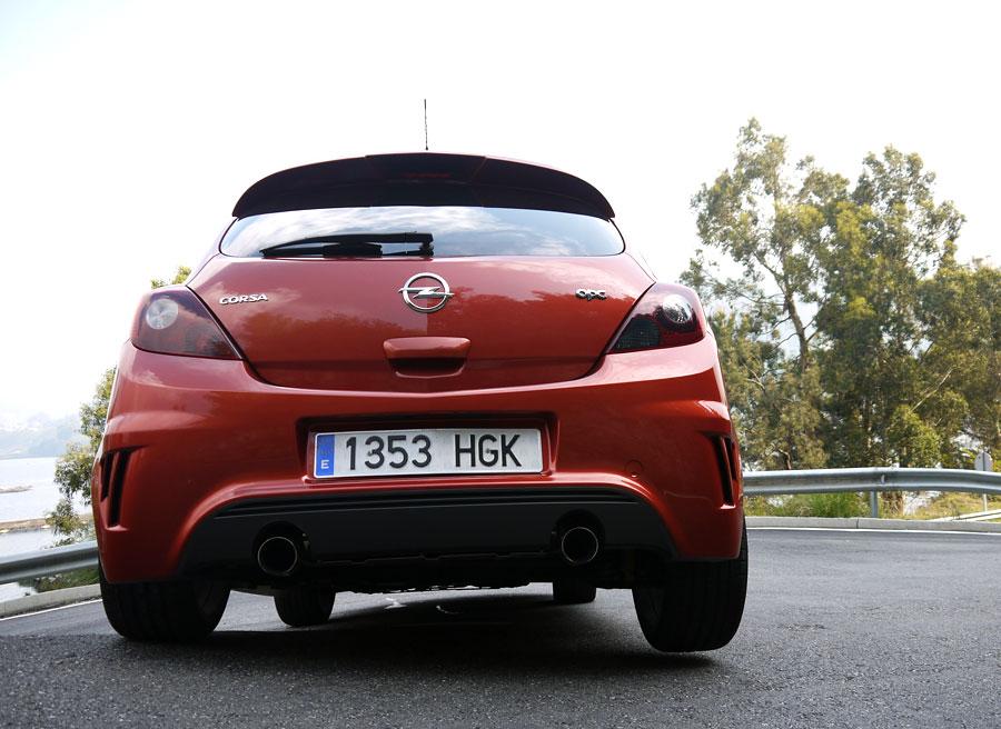 Prueba Opel Corsa OPC Nurburgring, Santa Cristina de Cobres, Rubén Fidalgo