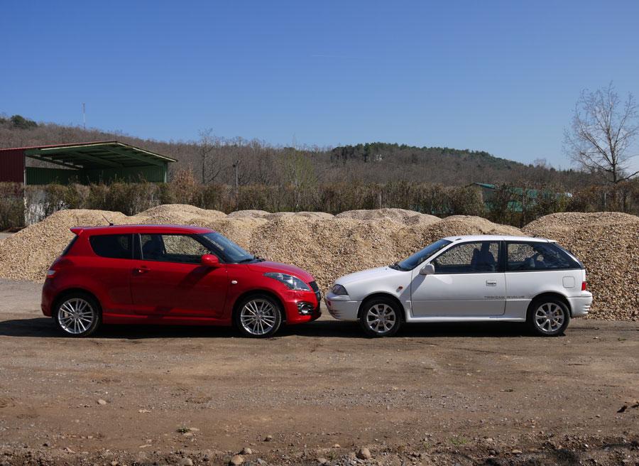 Prueba Suzuki Swift Sport Vs GTi 1.3, Carbajal de la Legua, Rubén Fidalgo