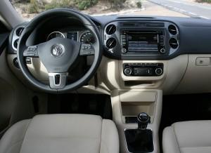 Volkswagen Tiguan 4x4, salpicadero