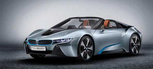 BMW i8 Spyder, el deportivo eléctrico