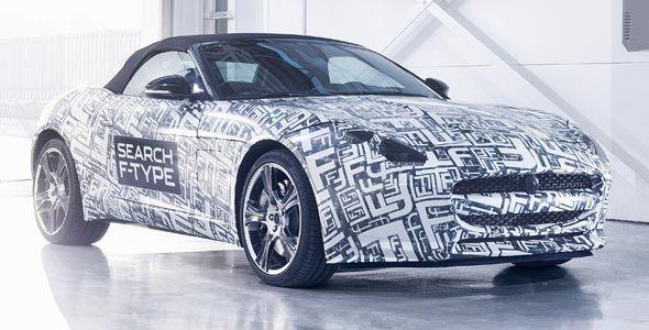 Jaguar F-Type: llega en 2013
