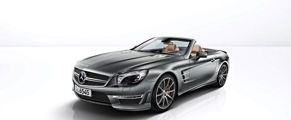 Mercedes SL 65 AMG 45 aniversario: 45 unidades muy especiales