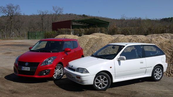 Suzuki Swift Sport: comparativa