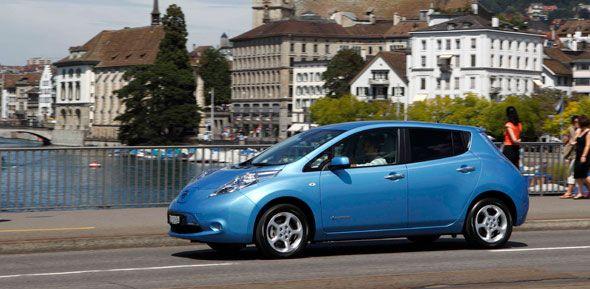 Un Nissan Leaf EV exclusivo para Europa
