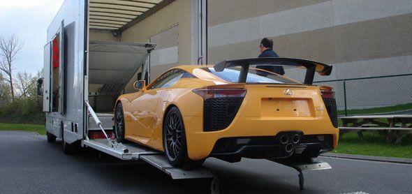 ¿Conoces al primer europeo que posee un Lexus LFA Nürburgring?