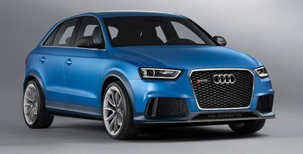 Audi RS Q3 Concept: lo veremos en el Salón de Pekín junto a una sorpresa