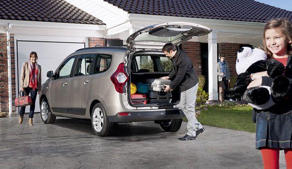 Dacia Lodgy, un monovolumen por 9.900 euros que llegará en mayo