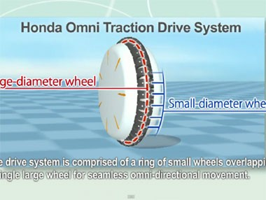 Vídeo del Honda U3-X en funcionamiento