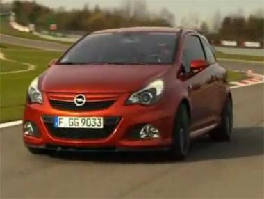 El Opel Corsa OPC Nurburgring rodando en Nordschleife