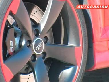 Prueba del Audi RS3… ¡en circuito!