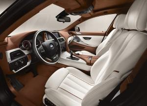 BMW Serie 6 Gran Coupé, asientos delanteros