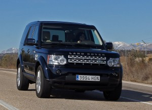 Land Rover Range Rover Discovery, carretera