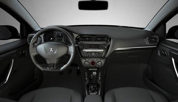 Interior del nuevo Peugeot 301.