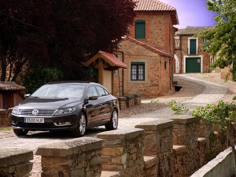 Prueba VW CC 1.8 TSI Castrillo de los Polvazares, Rubén Fidalgo