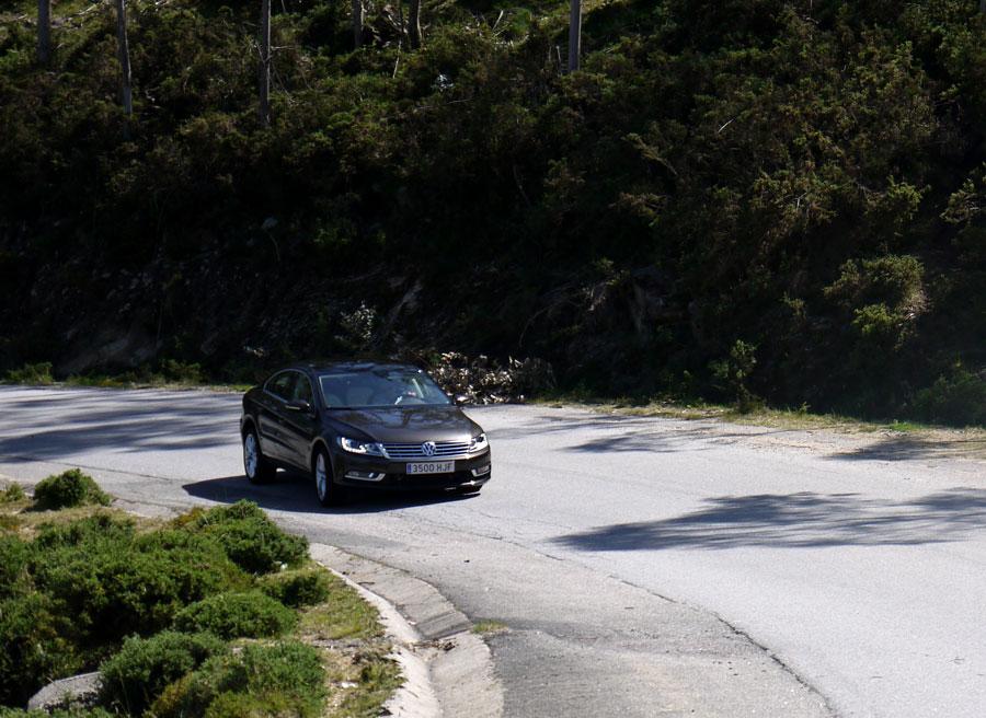 Prueba VW CC 1.8 TSI Chenlo, Rubén Fidalgo