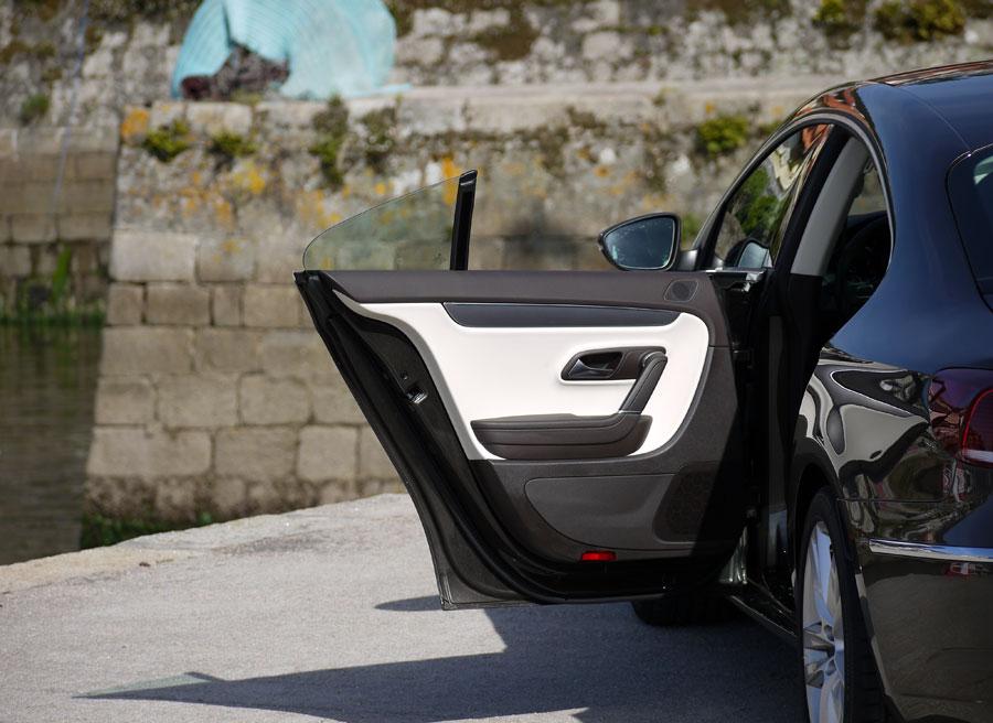 Prueba VW CC 1.8 TSI puerta trasera, Rubén Fidalgo