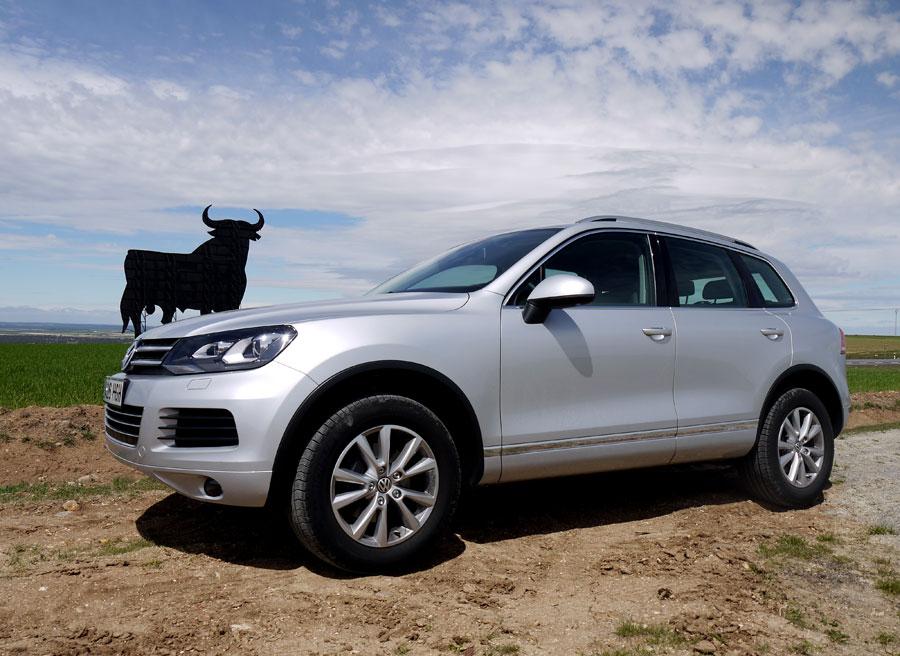 Prueba VW Touareg V6 TDi Bluemotion 204 CV, Labajos, Rubén Fidalgo