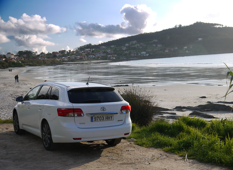 Toyota Avensis Cross Sport D4 Cat 180D Executive, Playa de Patos, Rubén Fidalgo