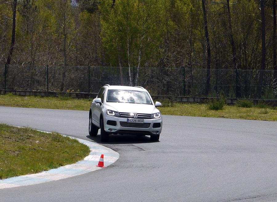 VW Touareg V6 TDi 204 CV, circuito, Rubén Fidalgo