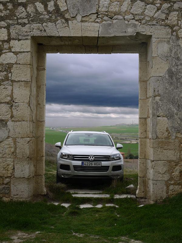 VW Touareg V6 TDi 204 CV, La Mota del Marqués, Rubén Fidalgo