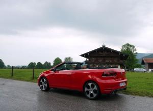 Volkswagen Golf GTI Cabrio, Teggersee, Rubén Fidalgo