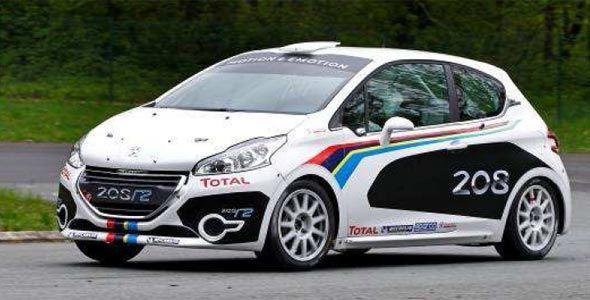 Peugeot desarrolla tres versiones de competición del 208