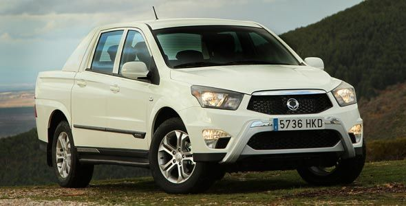 Nuevo SsangYong Actyon Sports Pick Up