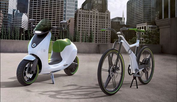 Smart lanzará un 'escooter' eléctrico en 2014