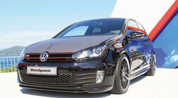 Volkswagen Golf GTi Black Dynamic, en el Festival GTi Wöthersee