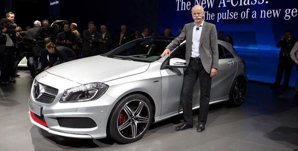 Mercedes en el Salón de Madrid
