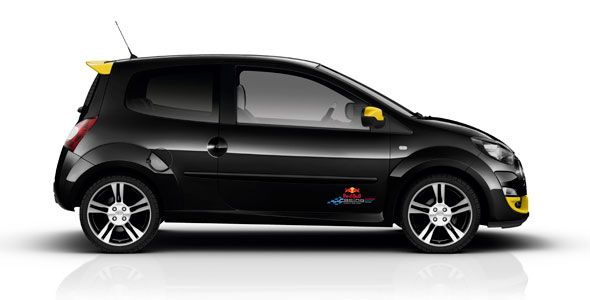 Renault Twingo RS Red Bull Racing RB7, con 133 CV