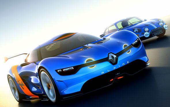 Renault Alpine: inspiración para un 'concept car' de 400 CV